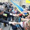 Петро Порошенко зустрівся з діаспорою в Канаді