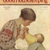 Українка у вишиванці на обкладинці відомого у США журналу 1928 року