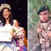 Міс Українська Діаспора передала бронежилет солдату у зону АТО