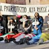Українці в Римі показали, як Путін маніпулює італійськими ЗМІ