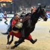 Українські козаки продемонстрували свої трюки на міжнародному кінному шоу Лондона