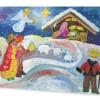 На різдвяних листівках у США надрукують малюнок 10-річної українки