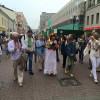 Попри побоювання українці все-таки провели парад вишиванок у Москві
