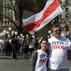 Українці й білоруси зіпсували «колорадський» мітинг у Нью-Йорку