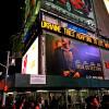 Таймс-Сквер засвітилась велетенським написом про Україну без Леніна