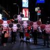 Жителям Нью-Йорка показали, що Путін не є добрим Міккі Маусом