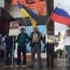 У Москві два десятки сміливців виступили проти російської агресії