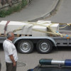Діаспора перевезла хрест з могили Бандери до України