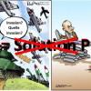 У Парижі українські та сирійські активісти зустріли Путіна протестом