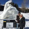 На фестивалі льодових скульптур у США українці показали, як зупинити війну