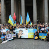 Українці у Римі привітали Савченко і чекають повернення решти політв'язнів