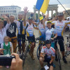 Стоденний велопробіг українців Європою подолав перший десяток міст
