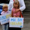 Українці в Іспанії зустрічали воїнів АТО, які приїхали на реабілітацію