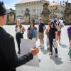 Активісти у Празі нагадали туристам про українських в'язнів Кремля