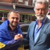 Пірс Броснан висловив підтримку українським волонтерам у Лондоні