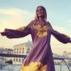 Ксенія Собчак похвалилася вишиванкою від українського дизайнера