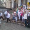 Українці у вишиванках пройшлися ходою через центр Брюсселя