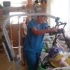 Українці з Канади придбали для сиротинцю в Україні пересувний підйомник