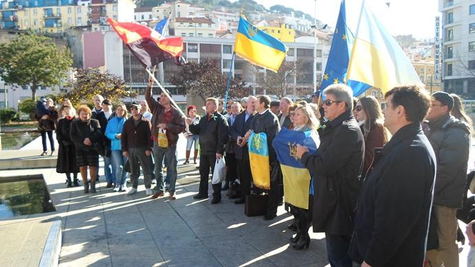 Акція солідарності у Лісабоні