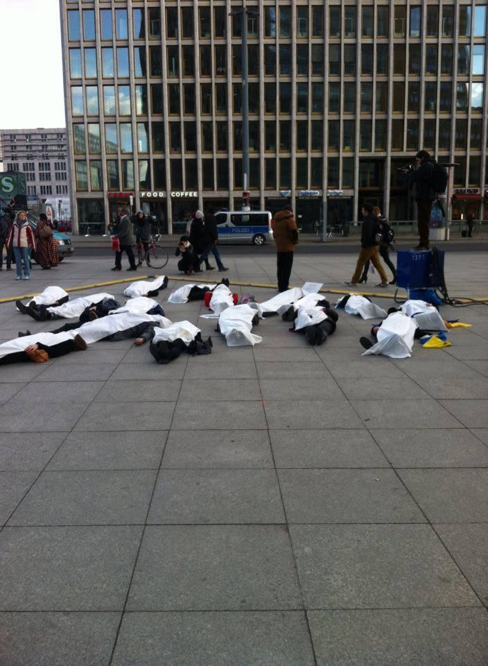 Берлін. Фото зі сторінки Євромайдан - Euromaydan