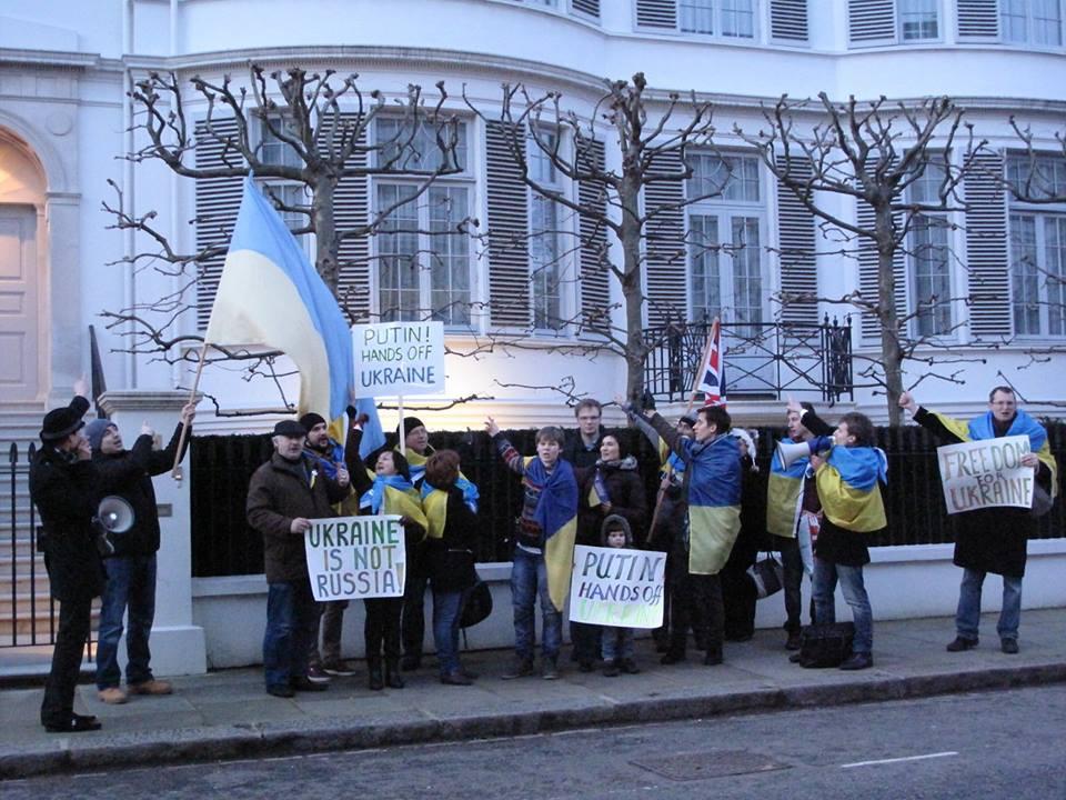 Лондон. Фото: London Euromaidan