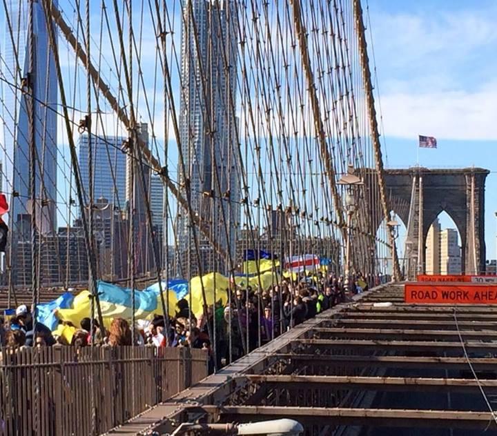 Нью-Йорк. Фото зі сторінки Euromaidan in English