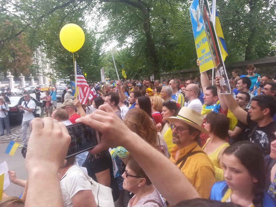 Марш Єдності у Нью-Йорку. Фото Michael Germanovsky