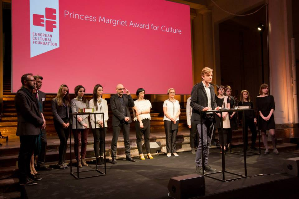 Церемонія нагородження. Фото: Maarten van Haaff