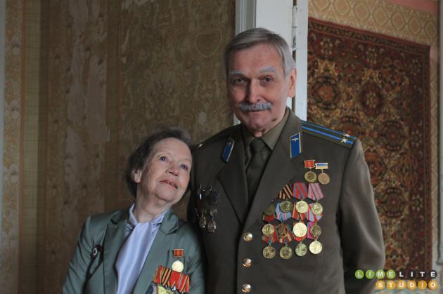 Актори Володимир Талашко та Ніна Антонова. Фото: sprotyv.info