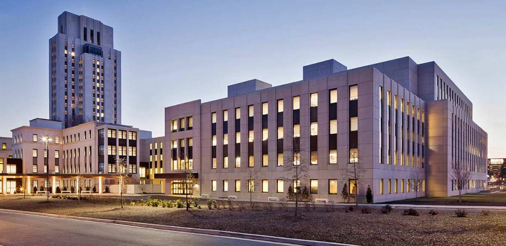 Військово-медичний центр імені Вальтера Ріда Фото: buildingwithpurpose.us