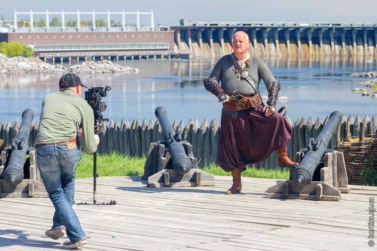 Телеканал BBC зняв документальний фільм про запорізький острів Хортиця