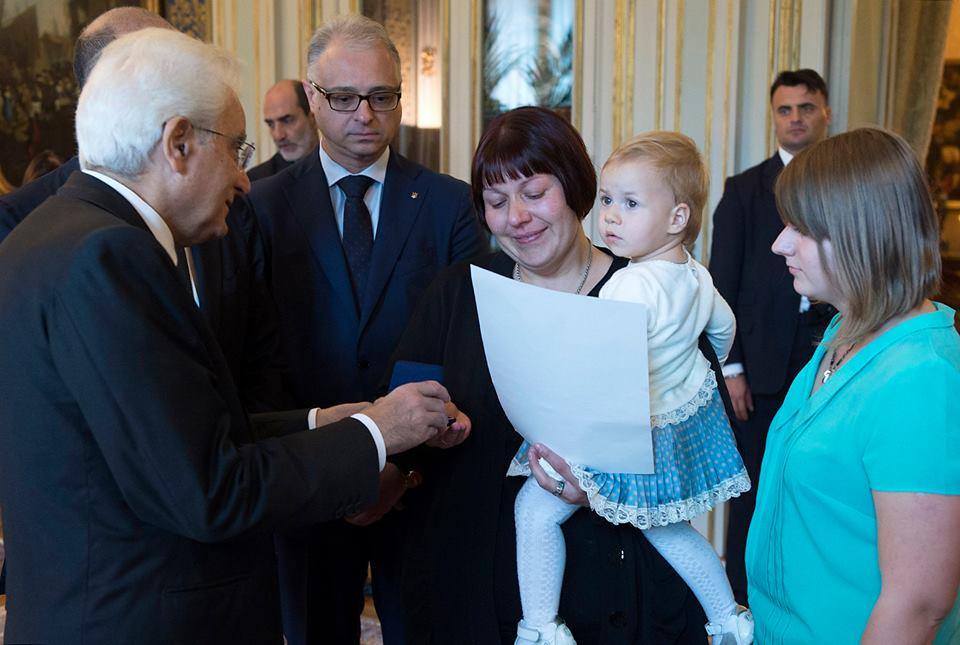 Фото: прес-служба Президента Італії