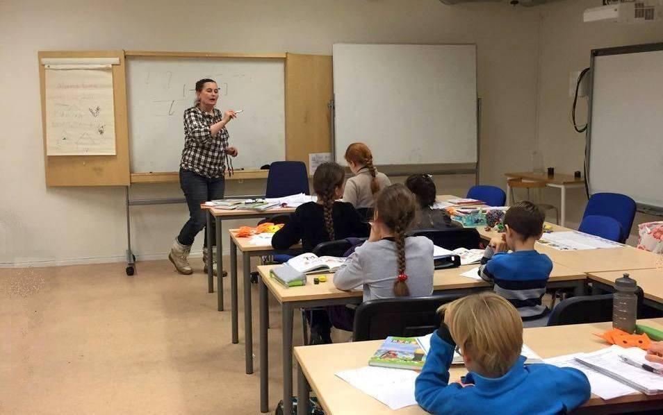 Фото: українська школа «Еллісів», Ніна Хаген