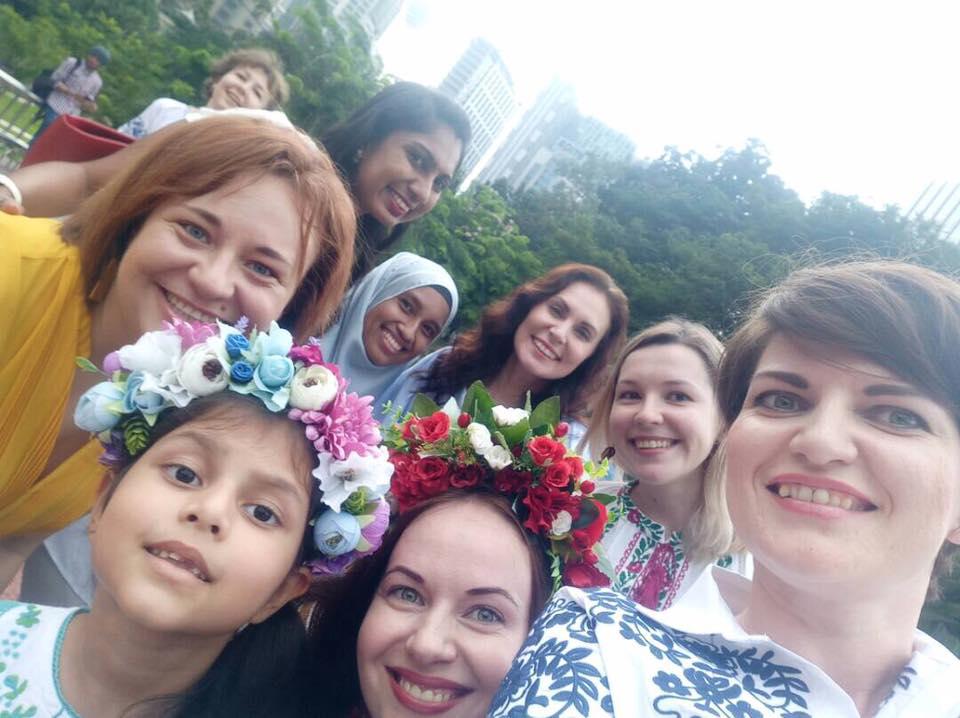 Українці Малайзії влаштували справжнє свято вишиванки навулицях Куала-Лумпура